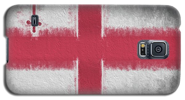 Galaxy S5 Case featuring the digital art The City Flag Of London by JC Findley
