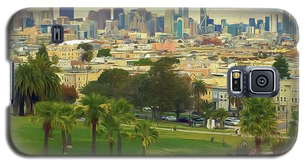 The City From Dolores Park Galaxy S5 Case