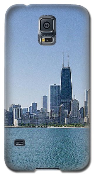 Galaxy S5 Case featuring the photograph The City Of Chicago Across The Lake by Skyler Tipton