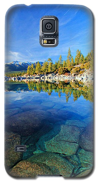 The Clarity Of Lake Tahoe Galaxy S5 Case