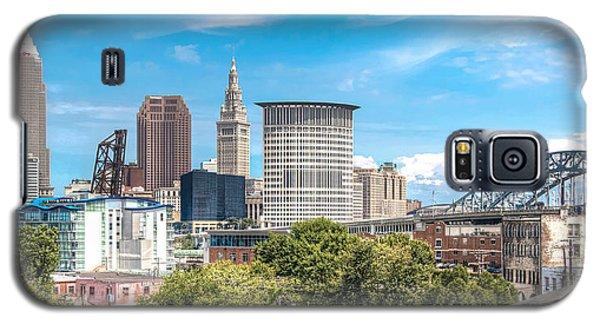 The Cleveland Skyline Galaxy S5 Case