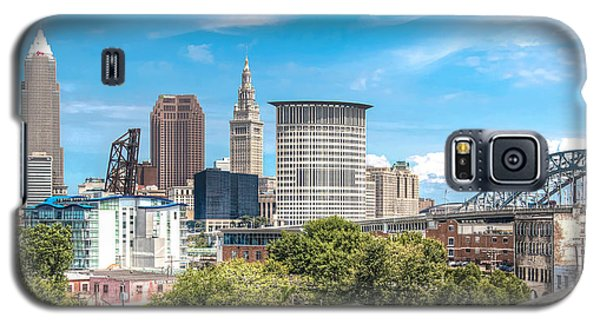 The Cleveland Skyline Galaxy S5 Case