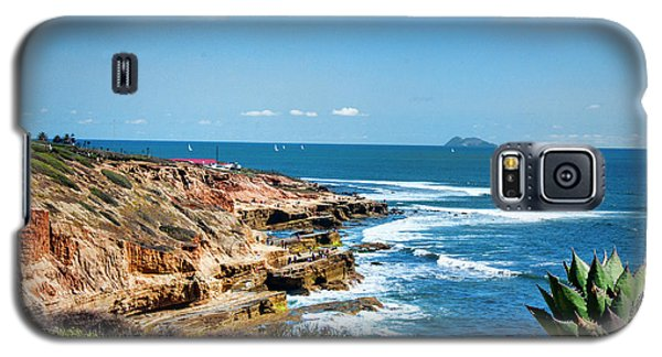 The Cliffs Of Point Loma Galaxy S5 Case