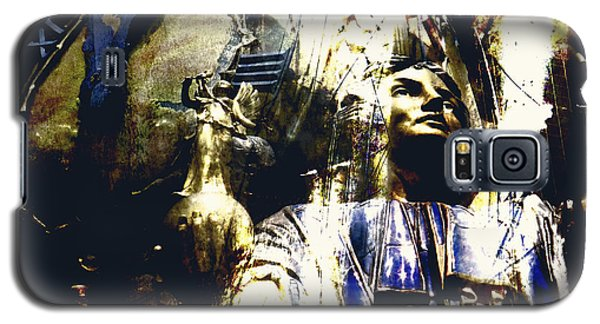 Galaxy S5 Case featuring the photograph The Clock Struck One by LemonArt Photography