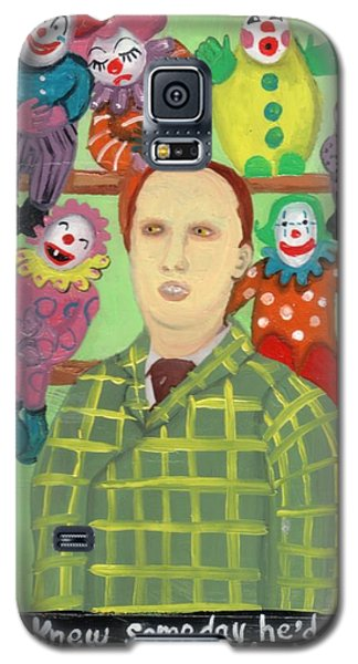 The Clown Collector Is Single Galaxy S5 Case