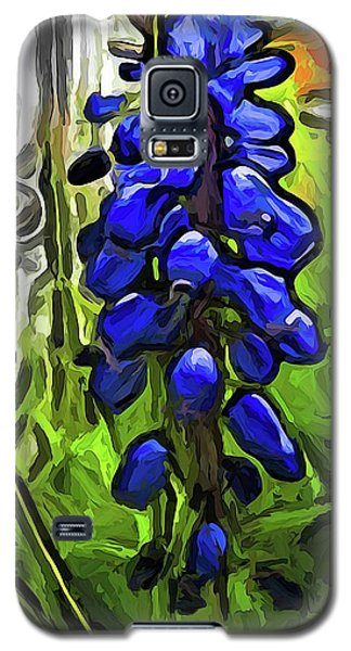 The Cobalt Blue Flowers And The Long Green Grass Galaxy S5 Case