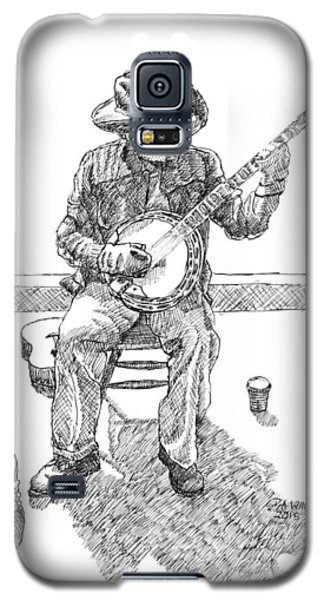 The Cold Banjo Player Galaxy S5 Case