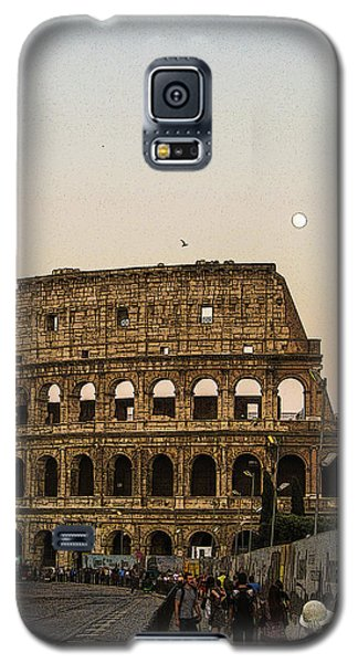 The Coliseum And The Full Moon Galaxy S5 Case