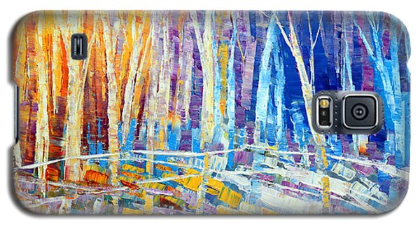 The Color Of Snow Galaxy S5 Case by Tatiana Iliina