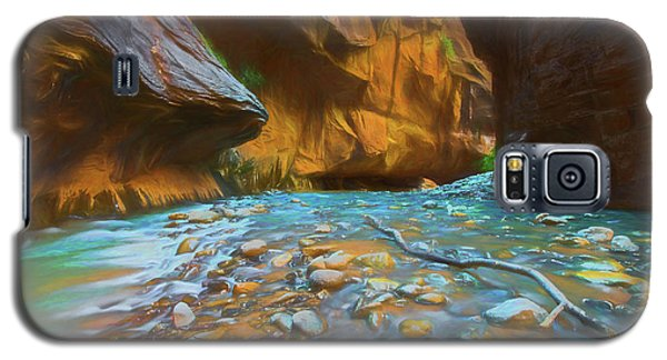 The Color Of Water Galaxy S5 Case