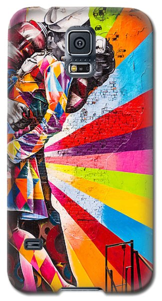 The Colorful Kiss Galaxy S5 Case