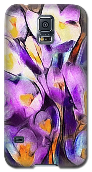 The Colors Of Crocus Galaxy S5 Case