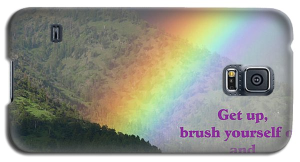 Galaxy S5 Case featuring the photograph The Colors Of The Rainbow Carry On by DeeLon Merritt