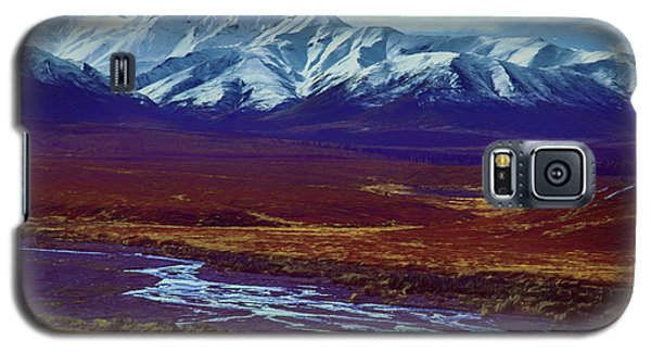The Colors Of Toklat River Galaxy S5 Case