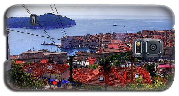 The Colourful City Of Dubrovnik Galaxy S5 Case