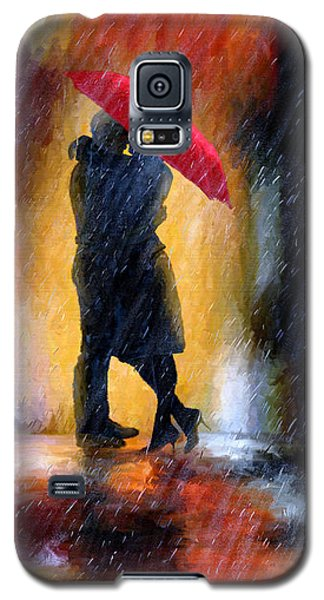 Galaxy S5 Case featuring the painting The Colours Of Love by James Shepherd