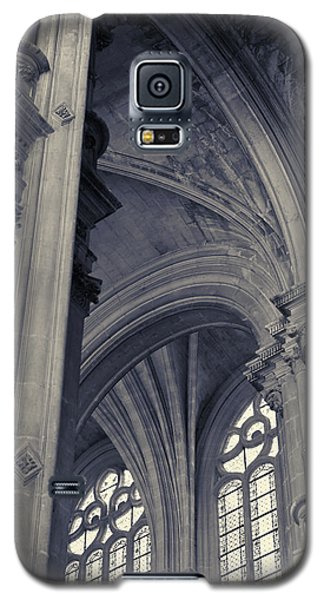 The Columns Of Saint-eustache, Paris, France. Galaxy S5 Case