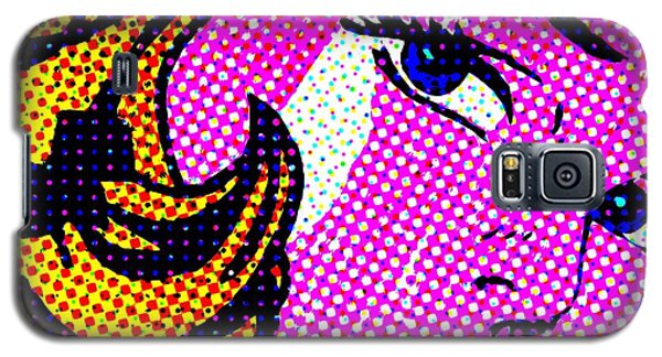 Batgirl Comic Girl Galaxy S5 Case by Robert Margetts