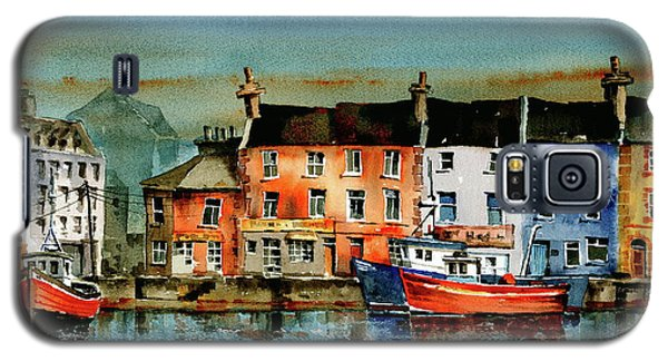 The Commercial Docks, Galway Citie Galaxy S5 Case