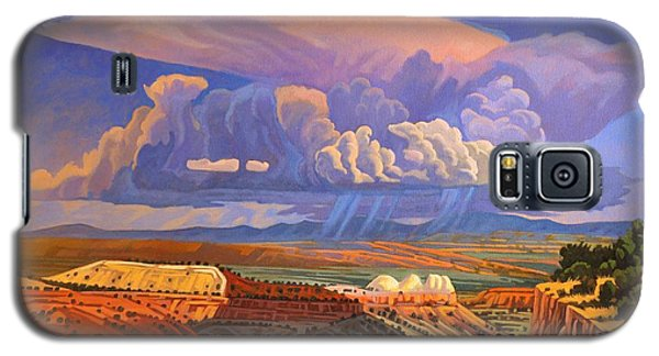 Galaxy S5 Case featuring the painting The Commute by Art West