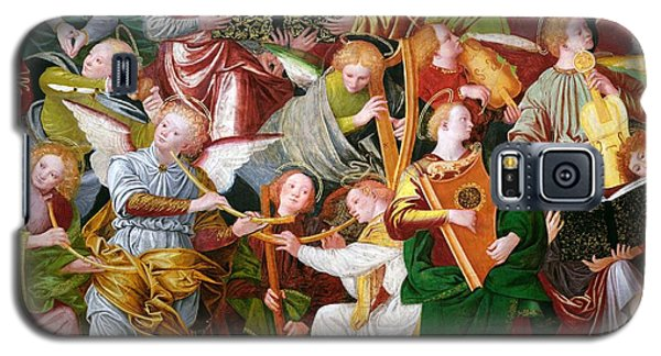 Trumpet Galaxy S5 Case - The Concert Of Angels by Gaudenzio Ferrari