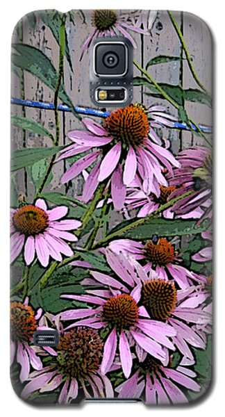 Galaxy S5 Case featuring the photograph The Coneflowers by Skyler Tipton