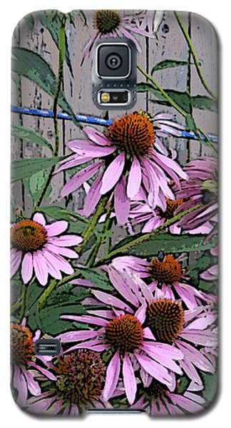 The Coneflowers Galaxy S5 Case by Skyler Tipton