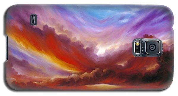 The Cosmic Storm II Galaxy S5 Case