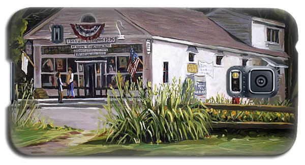 Galaxy S5 Case featuring the painting The Country Store by Nancy Griswold