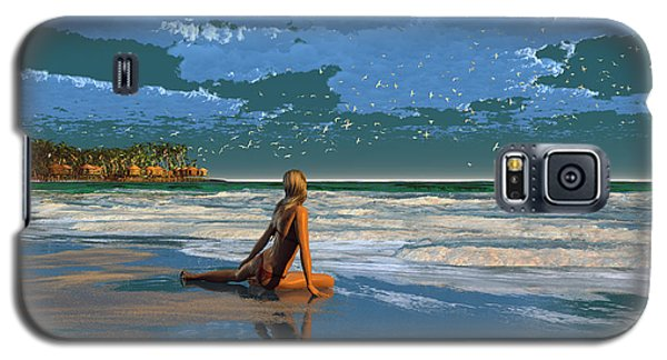The Courtship Of Sand Galaxy S5 Case
