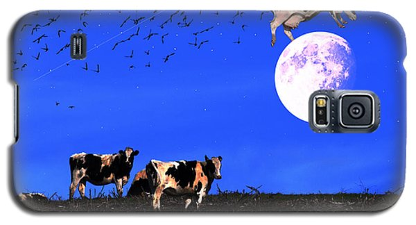 The Cow Jumped Over The Moon Galaxy S5 Case