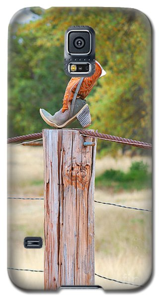 Galaxy S5 Case featuring the photograph The Cowboy Boot by Donna Greene
