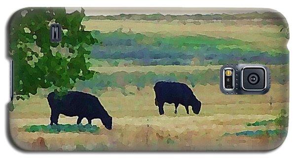 The Cows Next Door Galaxy S5 Case