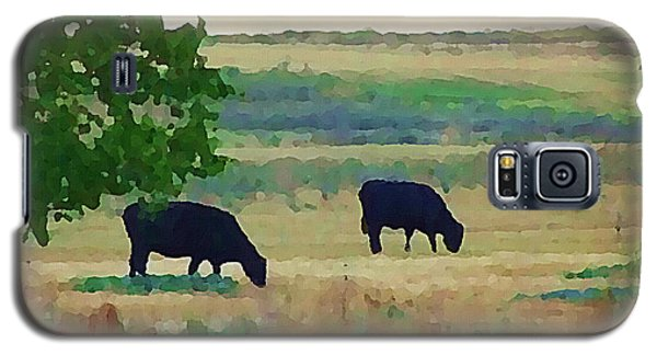 The Cows Next Door Galaxy S5 Case