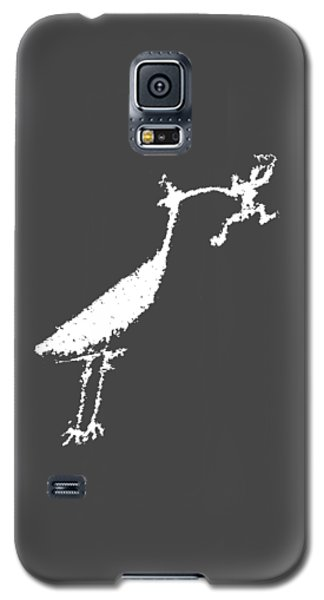 Galaxy S5 Case featuring the photograph The Crane by Melany Sarafis
