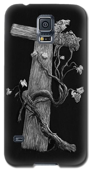 The Cross And The Vine Galaxy S5 Case