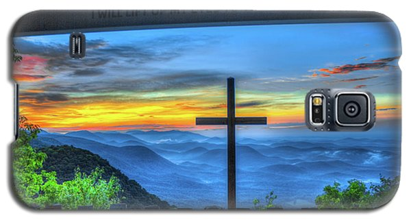 The Cross Sunrise At Pretty Place Chapel Galaxy S5 Case