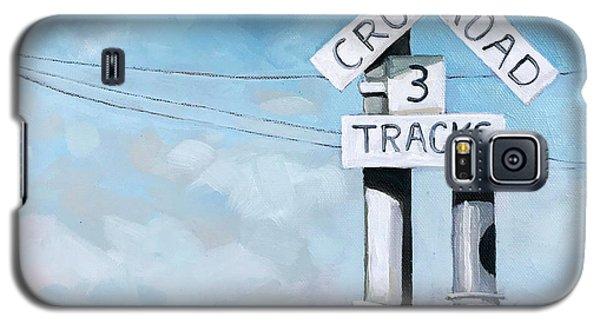 The Crossing - Train Signals Galaxy S5 Case