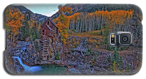 Galaxy S5 Case featuring the photograph The Crystal Mill by Scott Mahon