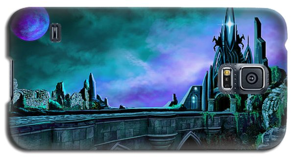 Galaxy S5 Case featuring the painting The Crystal Palace - Nightwish by James Christopher Hill