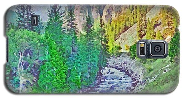 The Crystal River Around Redstone Colorado Galaxy S5 Case