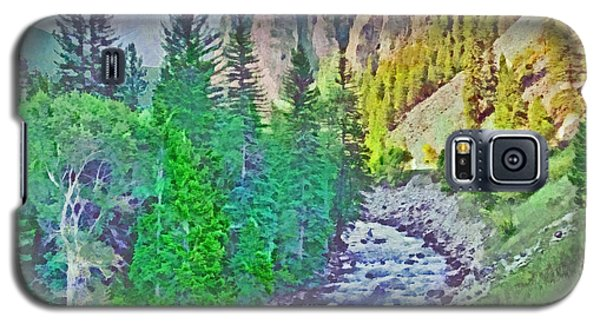 The Crystal River Around Redstone Colorado Galaxy S5 Case