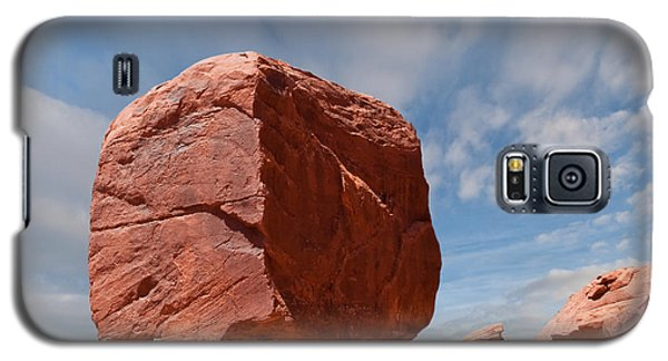 The Cube At Monument Valley Galaxy S5 Case