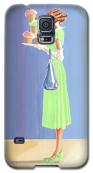 The Cupcake Lady Galaxy S5 Case