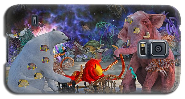 The Curious Game Galaxy S5 Case by Betsy Knapp