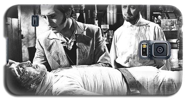 The Curse Of Frankenstein 1957 Baron Victor Frankenstein Galaxy S5 Case