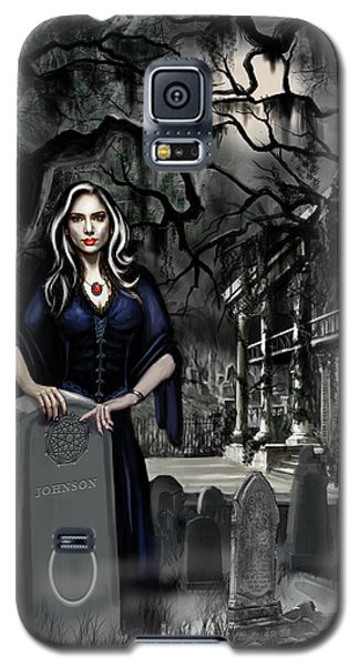 Galaxy S5 Case featuring the painting The Curse Of Johnson Bayou by James Christopher Hill