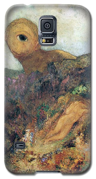 The Cyclops Galaxy S5 Case by Odilon Redon
