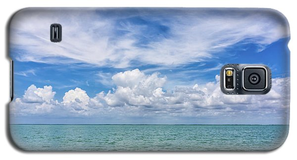 The Dance Of Clouds On The Sea Galaxy S5 Case