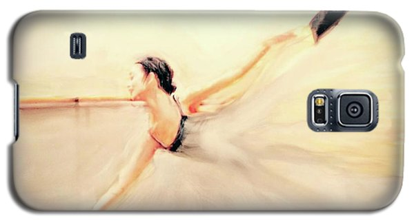 Galaxy S5 Case featuring the painting The Dance Of Life by FeatherStone Studio Julie A Miller